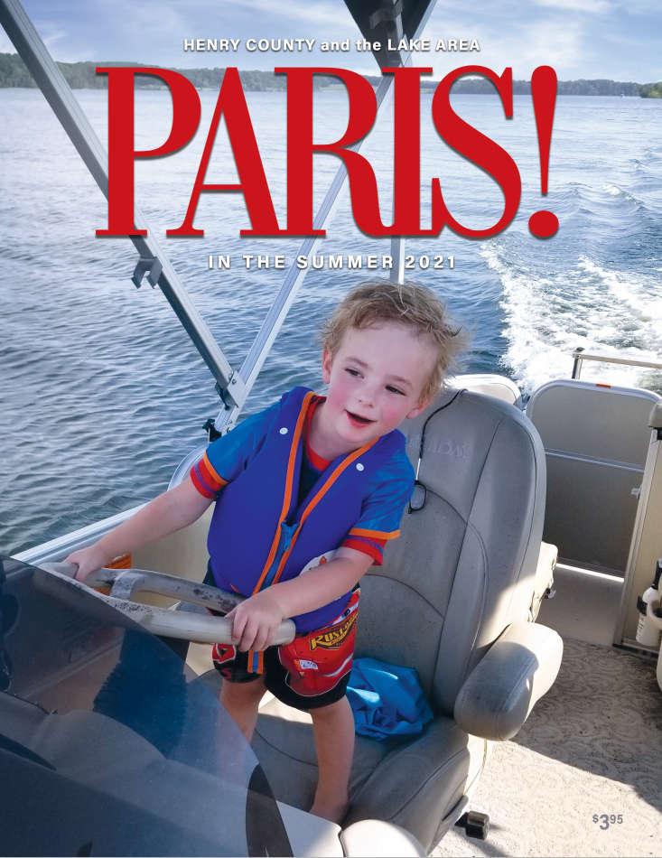 PARIS! summer 21 cover
